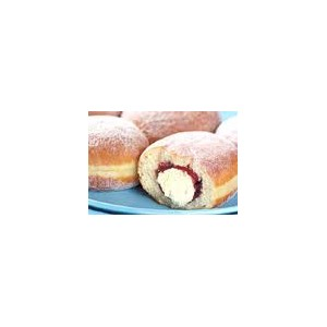 10 Jam and Cream Doughnuts