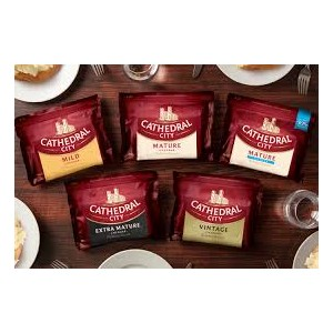 Cathedral City  Cheddar Cheeses 350g