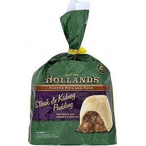 Hollands Steak & Kidney Pudding 4 pack