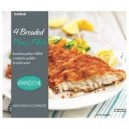 Iceland 4 Breaded Plaice Fillets